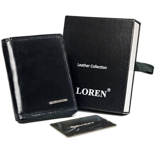 Portfel męski czarny Loren FRM-70-01Z BLACK