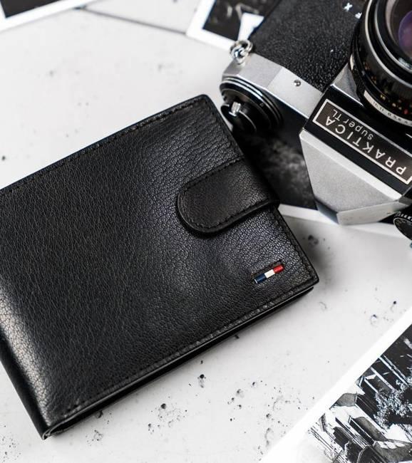 Portfel męski czarny Loren N992L-NYC-1410 BLACK