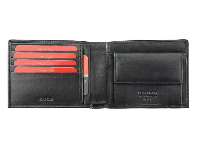 Portfel męski czarny Pierre Cardin 8805 TILAK09 NERO