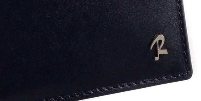 Portfel męski czarny ROVICKY W-8824-CVT BLACK
