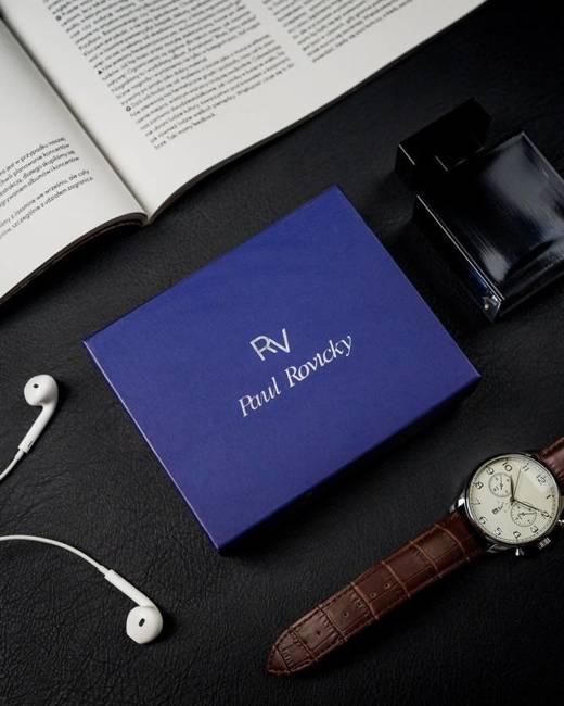 Portfel męski czarny Rovicky RV-7680278-8664 BL