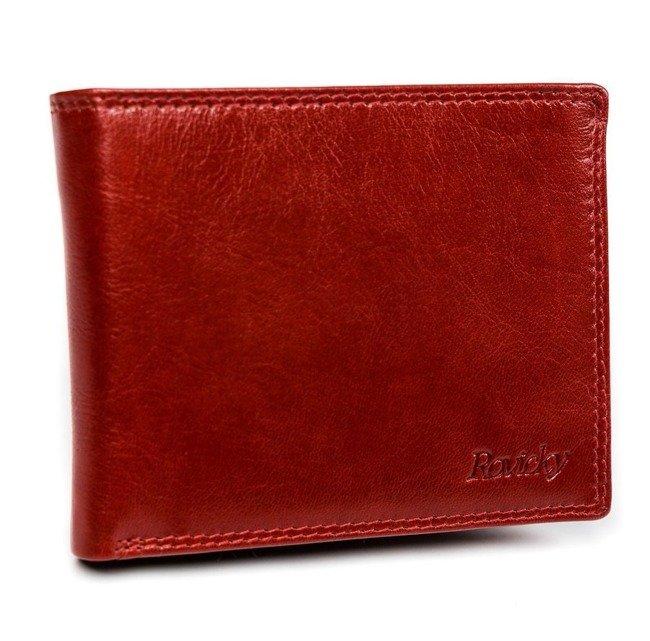 Portfel męski czerwony Rovicky N1906-RVTK RED