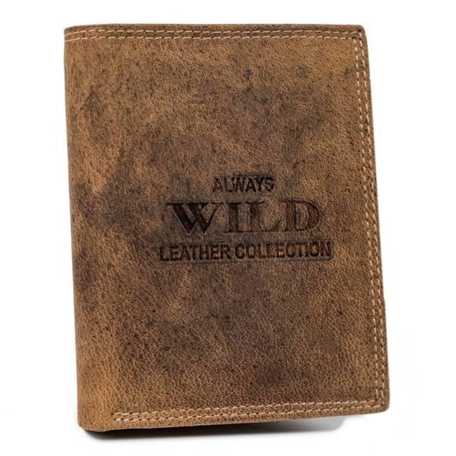 Portfel męski j. brązowy Always Wild RMH-01-7611 L.BROWN