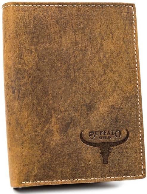 Portfel męski j. brązowy Buffalo Wild RM-03-HBW TAN