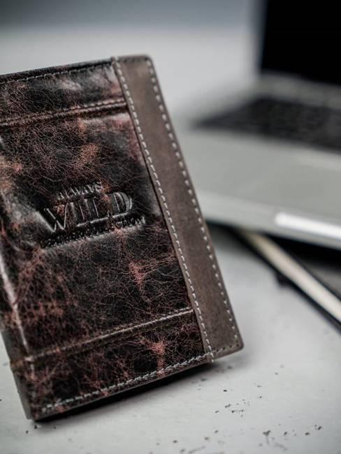 Portfel męski skórzany Always Wild N4-DIS brąz