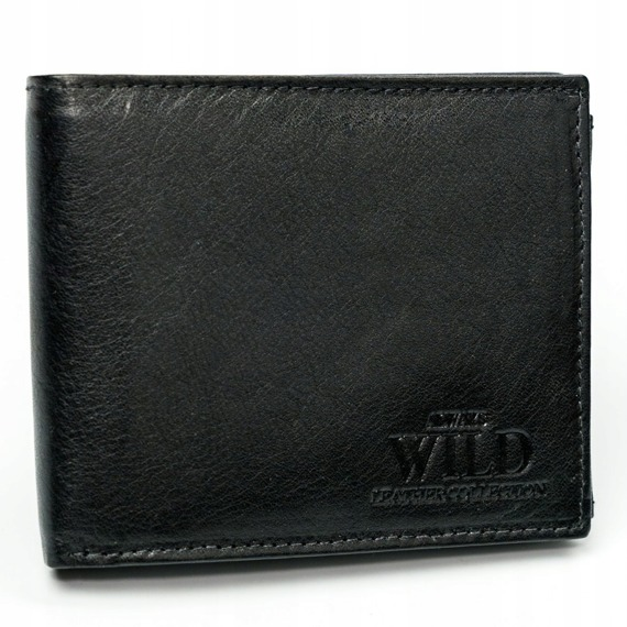 Portfel męski skórzany Always Wild N992-CCF czarny