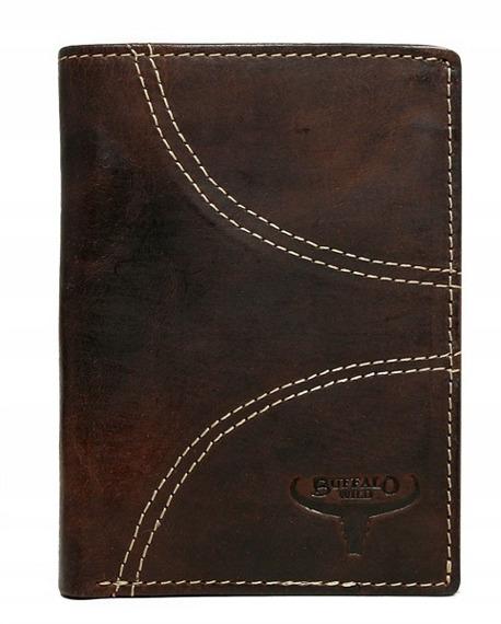 Portfel męski skórzany Buffalo Wild N4-HP-4 brązowy