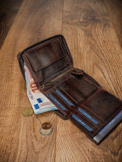 Portfel męski skórzany Buffalo Wild N4Z-HP-4 brązowy
