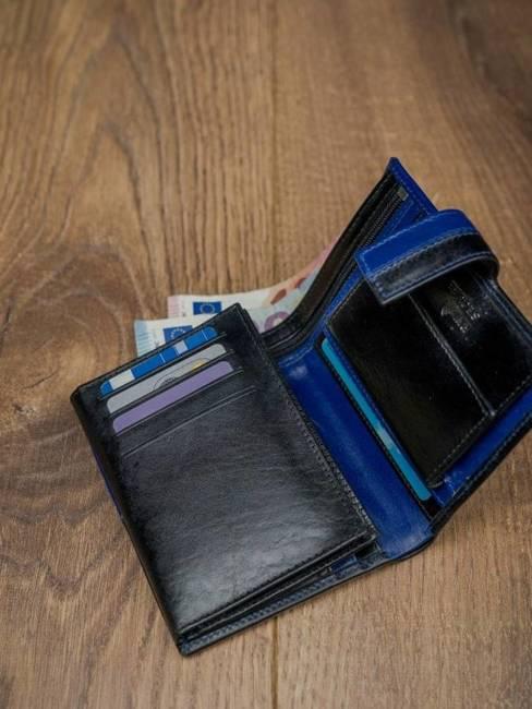 Portfel męski skórzany RFID Rovicky D1072L-VT2