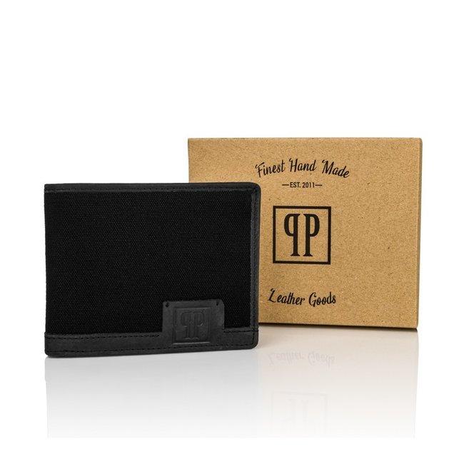 Portfel skórzany męskie RFID czarny Paolo Peruzzi T-02