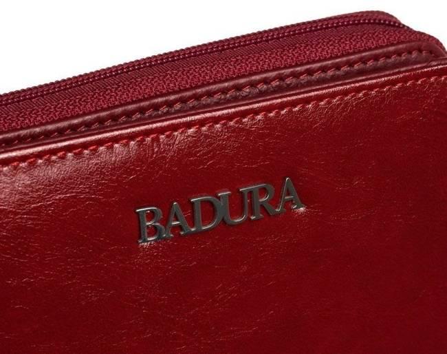 Portmonetka damska Badura B-41375P-BPR czerwona