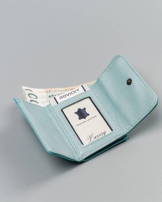 Portmonetka damska błękitna Lorenti 55287-NIC RFID L.BLU