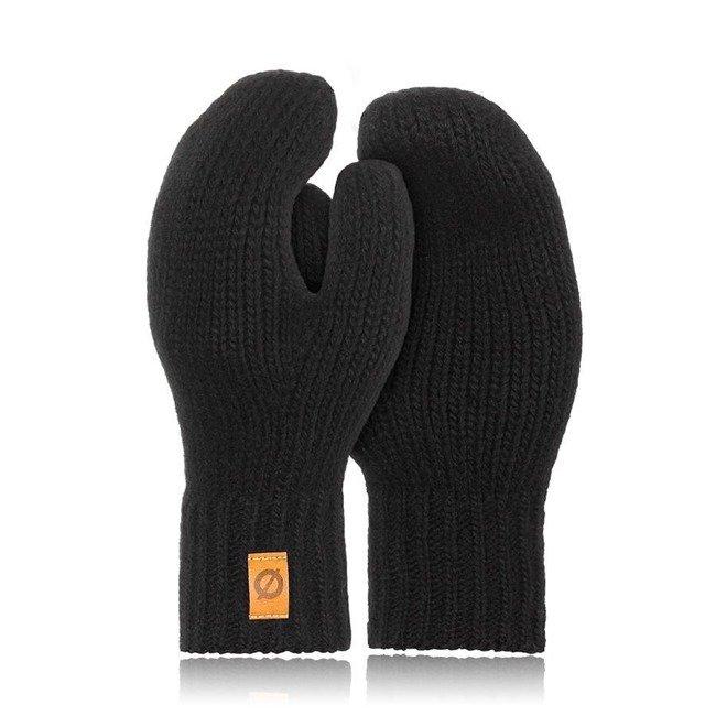 Rękawiczki damskie zimowe r02 Brodrene R02 czarne