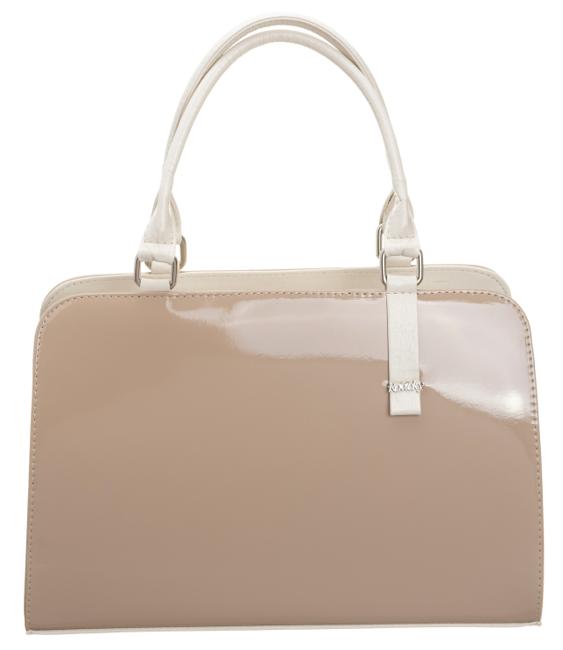 Rovicky® klasyczna damska torebka trapez eko