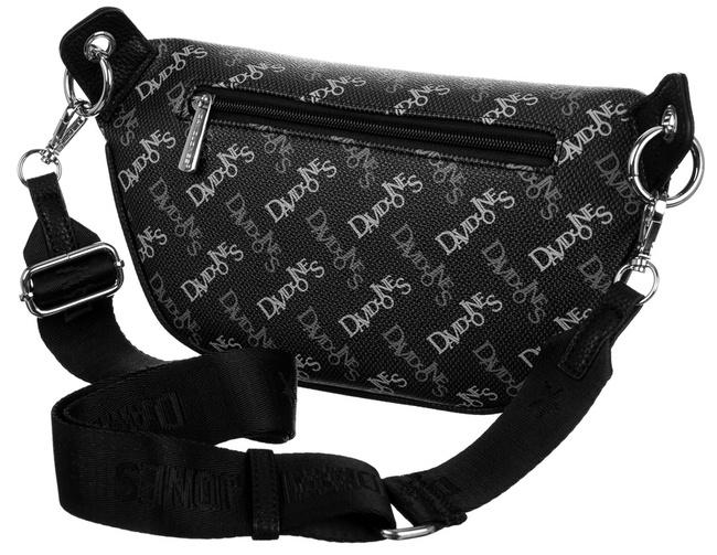 Saszetka czarna print David Jones CH21016 BLACK