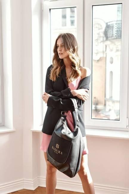 Shopper bag czarny Badura T_D142CZ_CD