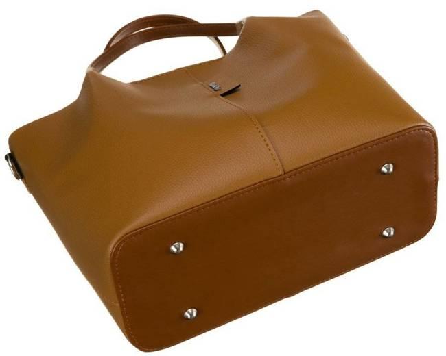 Shopper bag damski Rovicky 1335 CAMEL