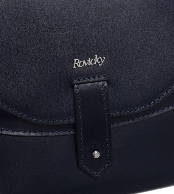 Shopper damski Rovicky TWR-64 GRANATOWY LOG