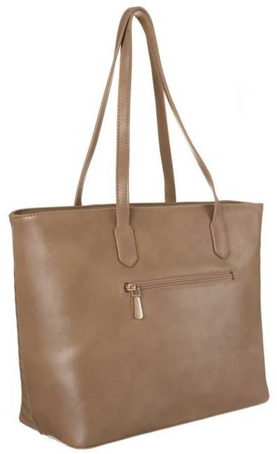 Shopper damski beżowy David Jones BAG1730-015