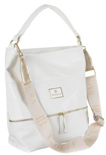 Shopper damski biały Badura T_D224BIA_CD