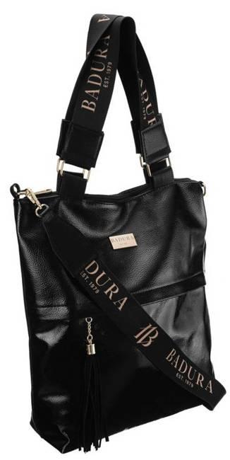 Shopper damski czarny Badura TD_201CZ_CD