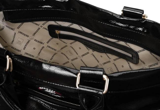 Shopper damski czarny Monnari BAG1510-020