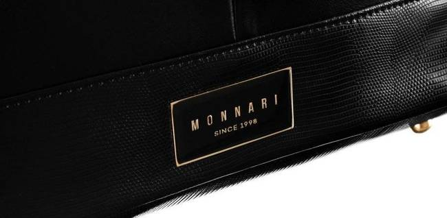 Shopper damski czarny Monnari BAG2801-020