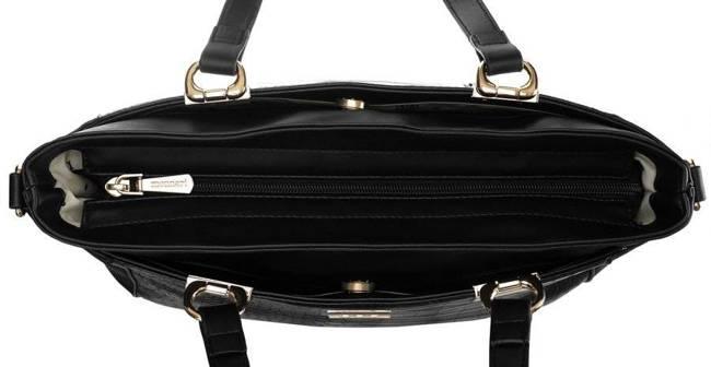 Shopper damski czarny Monnari BAG2850-020
