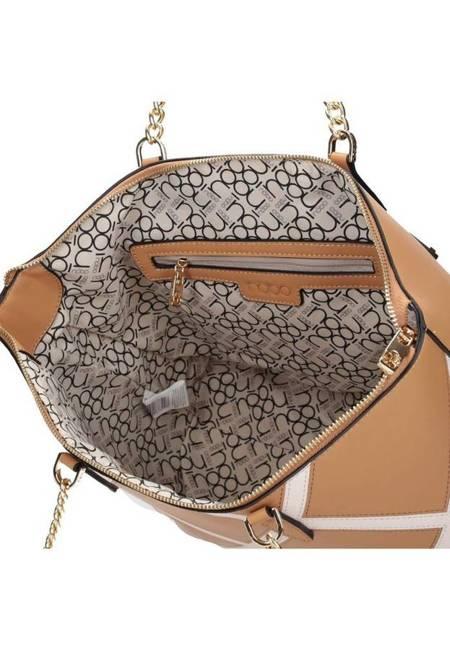 Shopper damski kamelowy Nobo NBAG-K2290-C015