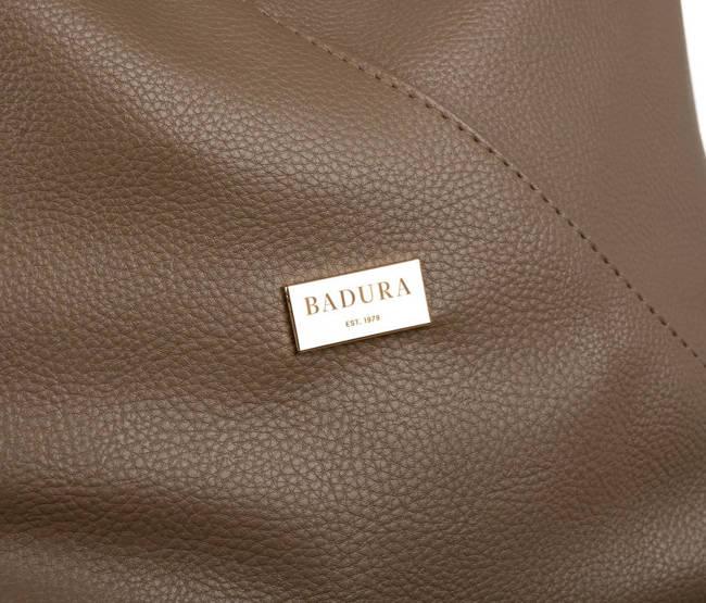 Shopperka beżowa Badura T_D177BE_CD