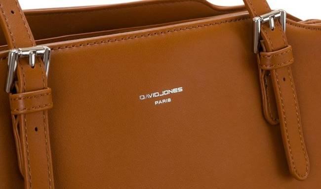 Shopperka koniakowa David Jones CM6002 COGNAC