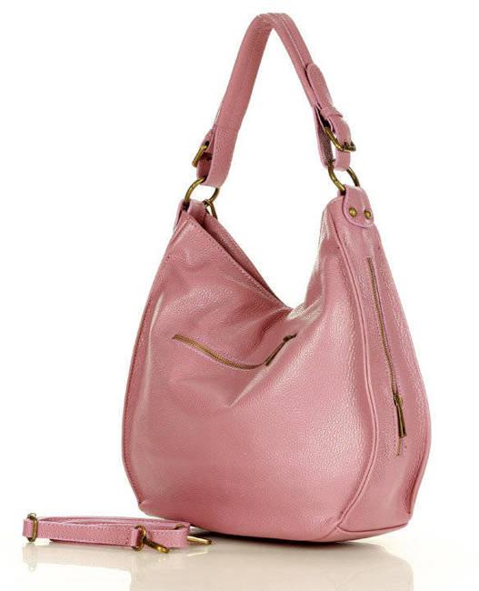 Shopperka różowa MARCO MAZZINI s184w