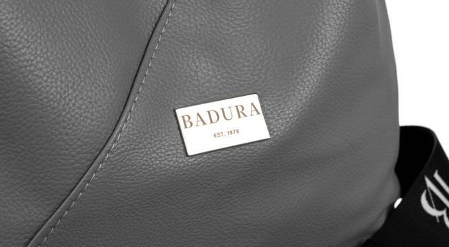 Shopperka szara Badura T_D177SZ_CD