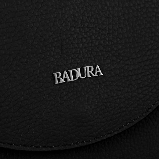 Skórzana listonoszka damska czarna Badura T_D219CZ_CD