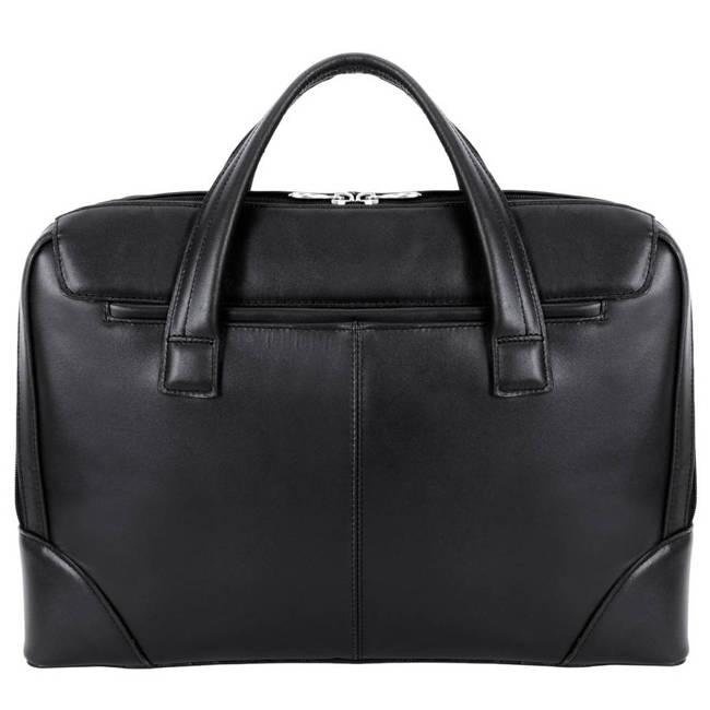 Skórzana męska torba na laptopa MCKLEIN Harpswell 88565 czarna