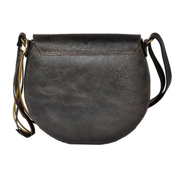 Skórzana torba damska DAAG Jazzy Wanted 113 ciemny brąz