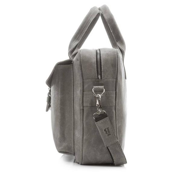 Skórzana torba męska BALEINE T3 jasnobrązowa