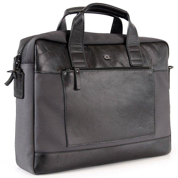 Skórzana torba na laptopa unisex DAAG Happy Club 1