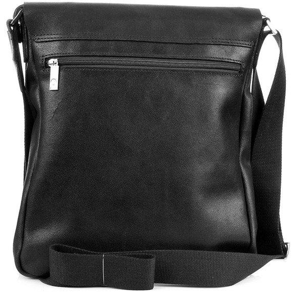 Skórzana torba na ramię unisex DAAG Jazzy Smash 71 czarna