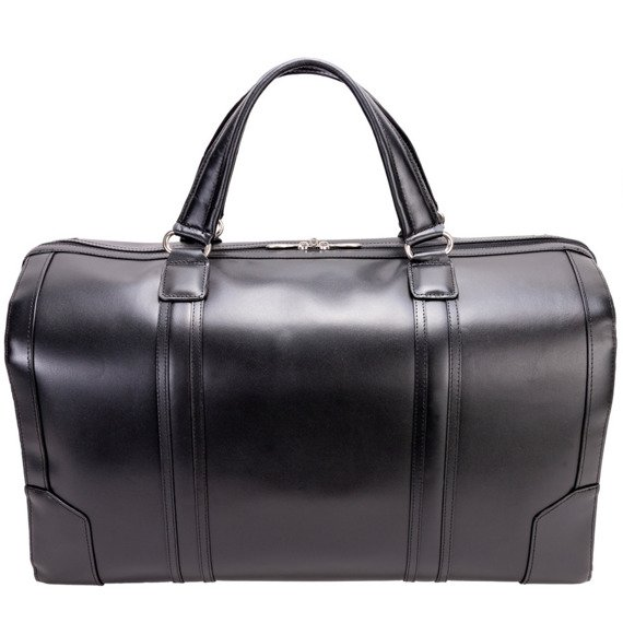 Skórzana torba podróżna McKlein Kinzie 88195 czarna