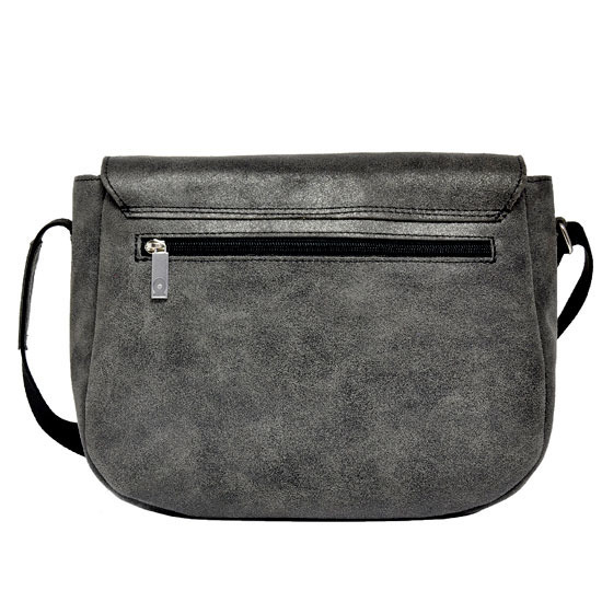 Skórzana torba unisex DAAG JAZZY RISK 158 czarna