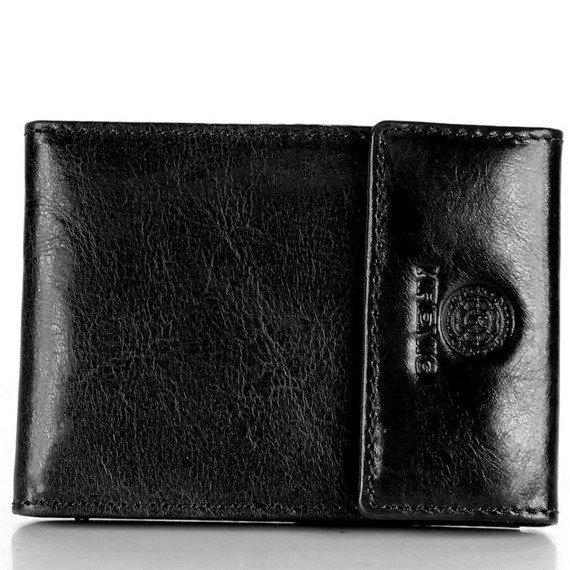 Skórzane etui na karty, dokumenty KRENIG Classic 12034 czarne