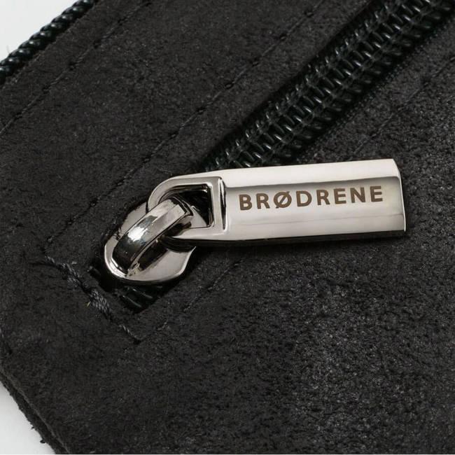 Skórzane etui na klucze BRODRENE K01 czarne