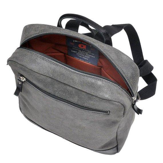 Skórzany plecak męski DAAG Jazzy Risk Up 170 czarny