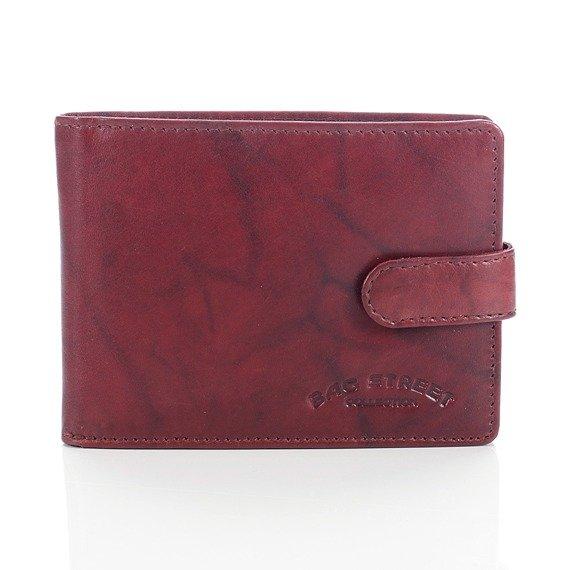 Skórzany portfel męski Bag Street GA188 brązowy