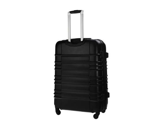 Średnia walizka podróżna STL838 czarna
