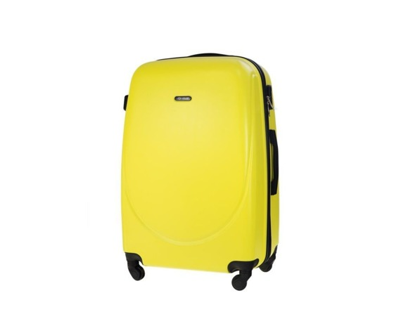 Średnia walizka podróżna STL856 żółta