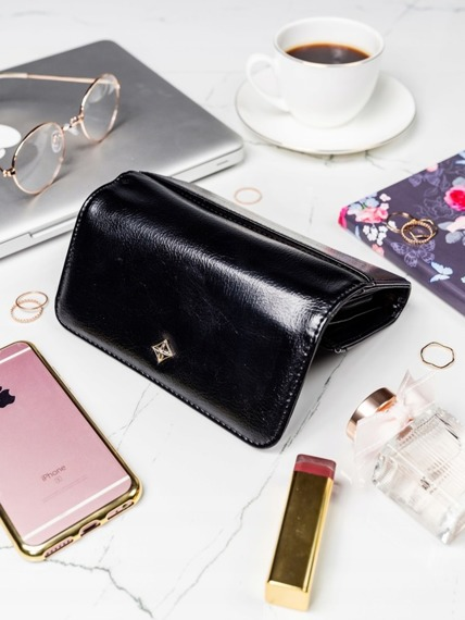 Stylowy portfel damski Milano Design czarny