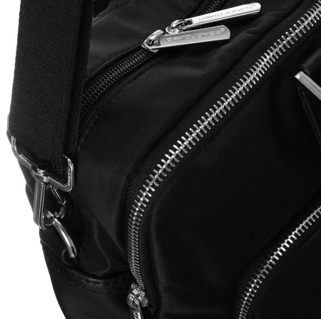 Torba damska na laptopa czarna David Jones 795505 BLACK