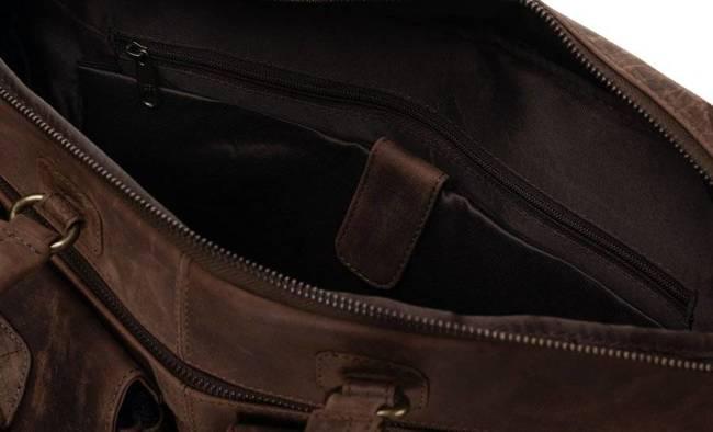 Torba męska na laptopa brązowa Badura LAP-15602-TGH-NL BRO